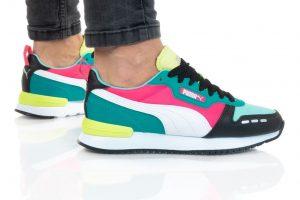 נעלי סניקרס פומה לנשים PUMA R78 - ירוק