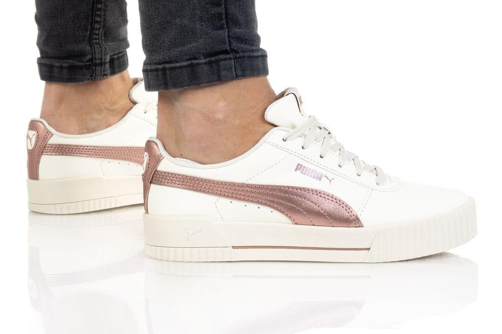 נעלי סניקרס פומה לנשים PUMA Carina Meta20 - לבן/ורוד