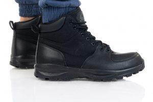 מגפי נייק לגברים Nike Manoa Leather - שחור
