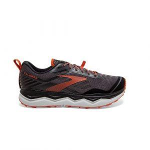 נעלי ריצת שטח ברוקס לגברים Brooks 4 Caldera - שחור/כתום