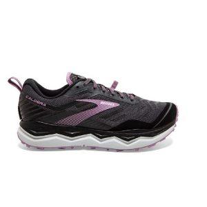 נעלי ריצת שטח ברוקס לנשים Brooks 4 Caldera - שחור/סגול