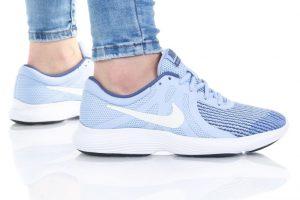 נעלי סניקרס נייק לנשים Nike REVOLUTION 4 GS - כחול