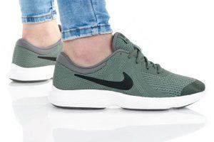 נעלי סניקרס נייק לנשים Nike REVOLUTION 4 GS - ירוק