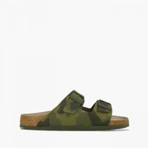 כפכפי בירקנשטוק לגברים Birkenstock Arizona - ירוק זית