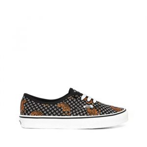 נעלי סניקרס ואנס לנשים Vans Authentic - שחור הדפס