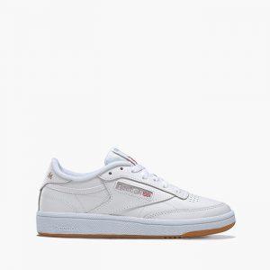 נעלי סניקרס ריבוק לנשים Reebok Club C 85  - לבןחום