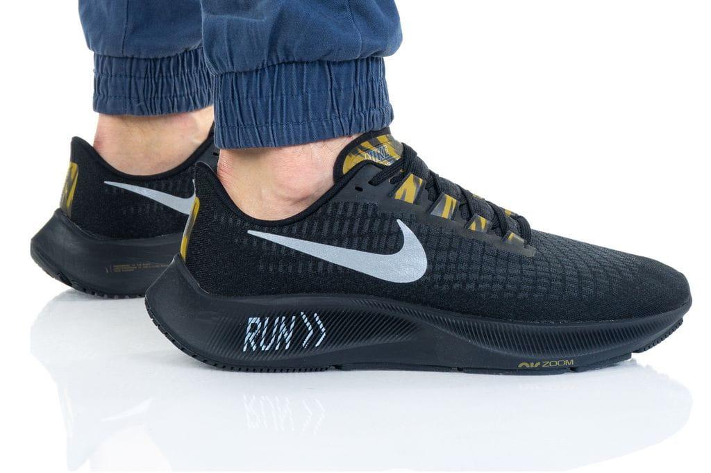 נעלי ריצה נייק לגברים Nike Air Zoom Pegasus 37 - שחור מלא