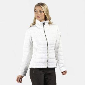 ג'קט ומעיל רגטה לנשים Regatta Lustel - לבן