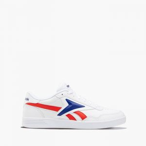 נעלי סניקרס ריבוק לגברים Reebok ROYAL TECHQUE T - לבן  כחול  אדום