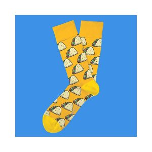גרב טו לפט פיט לגברים TWO LEFT FEET EVERYDAY SOCKS - צהוב