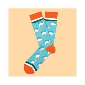 גרב טו לפט פיט לגברים TWO LEFT FEET FIT EVERYDAY SOCKS - תכלת