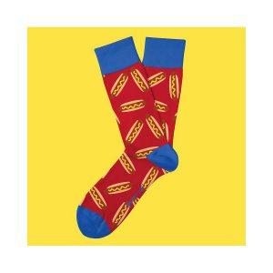 גרב טו לפט פיט לגברים TWO LEFT FEET FIT EVERYDAY SOCKS - כחול/אדום