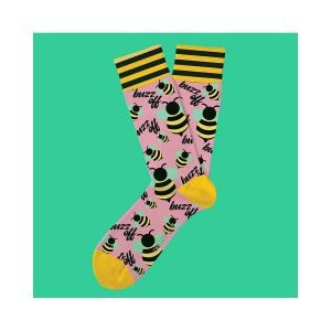 גרב טו לפט פיט לגברים TWO LEFT FEET FIT EVERYDAY SOCKS - ורוד