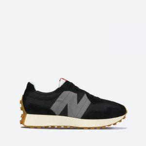 נעלי סניקרס ניו באלאנס לגברים New Balance MS327 - שחור/לבן