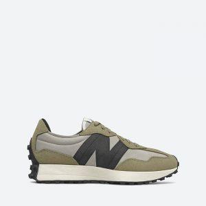 נעלי סניקרס ניו באלאנס לגברים New Balance MS327 - ירוק זית
