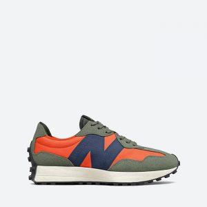 נעלי סניקרס ניו באלאנס לגברים New Balance MS327 - ירוק