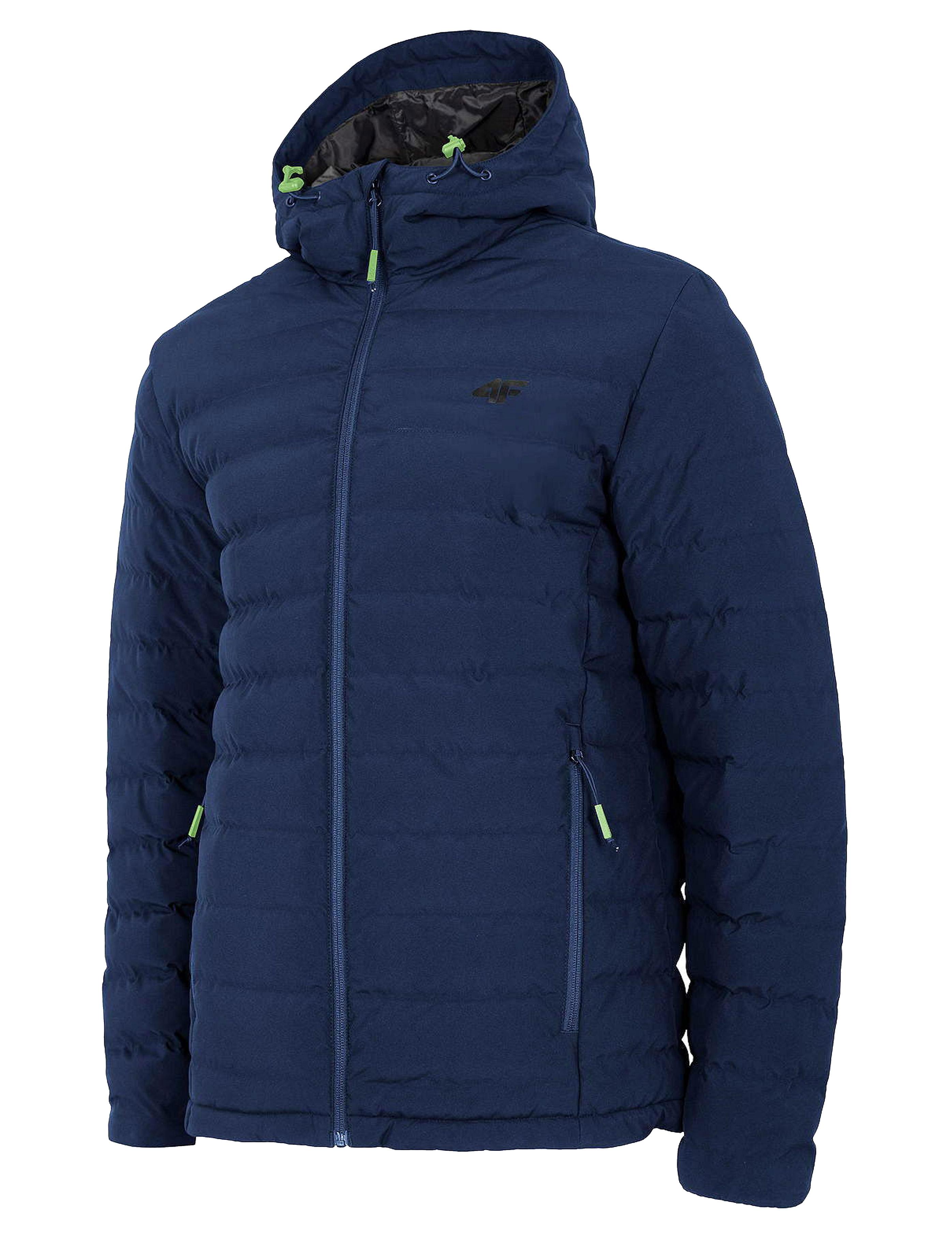 ג'קט ומעיל פור אף לגברים 4F Dominant - כחול