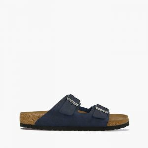 כפכפי בירקנשטוק לגברים Birkenstock Arizona Vegan - כחול