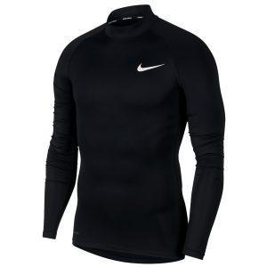 חולצת אימון נייק לגברים Nike Tight Mock - שחור