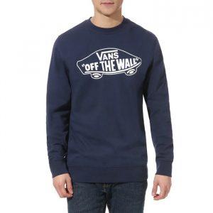 סווטשירט ואנס לגברים Vans OTW Crew II - כחול