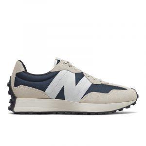 נעלי סניקרס ניו באלאנס לגברים New Balance MS327 - כחול/לבן
