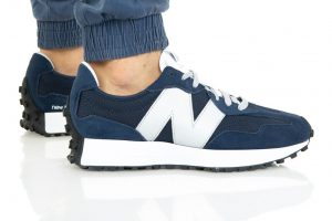נעלי סניקרס ניו באלאנס לגברים New Balance MS327 - לבן/ כחול