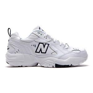 נעלי סניקרס ניו באלאנס לגברים New Balance MX608 - לבן