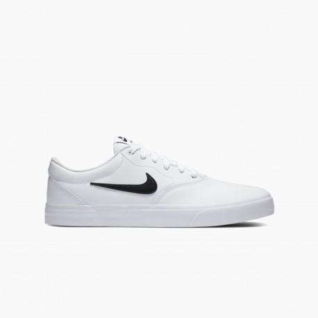 נעלי סניקרס נייק לגברים Nike SB CHARGE PRM - לבן