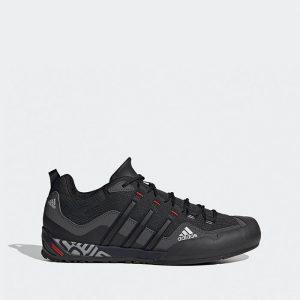 נעלי טיולים אדידס לגברים Adidas TERREX SWIFT SOLO - שחור פחם