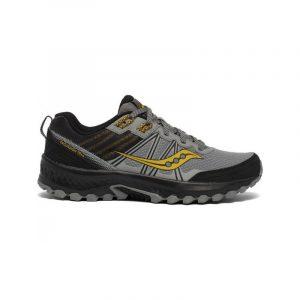 נעלי ריצה סאקוני לגברים Saucony EXCURSION TR14 - אפור/צהוב