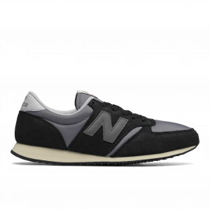 נעלי סניקרס ניו באלאנס לגברים New Balance U420 - שחור/אפור
