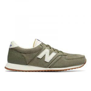 נעלי סניקרס ניו באלאנס לגברים New Balance U420 - ירוק
