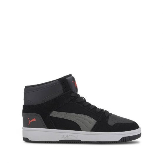 נעלי סניקרס פומה לנשים PUMA Rebound Layip Sd - שחור/אפור