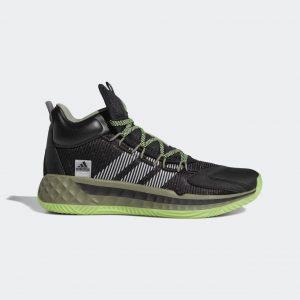נעלי כדורסל אדידס לגברים Adidas Pro Boost Mid - שחור