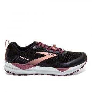 נעלי ריצת שטח ברוקס לנשים Brooks Cascadia 15 - שחור
