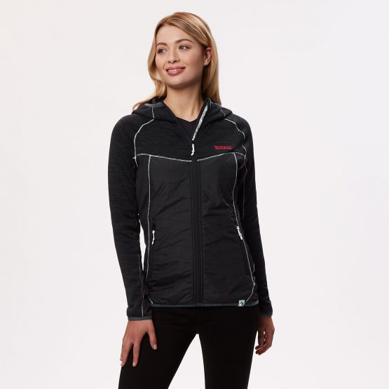 ג'קט ומעיל רגטה לנשים Regatta Rocknell Hybrid - שחור