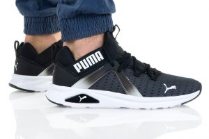 נעלי סניקרס פומה לגברים PUMA ENZO 2 - שחור/לבן
