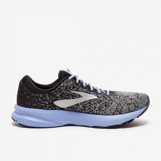 נעלי ריצה ברוקס לנשים Brooks Launch 6 - שחור/אפור