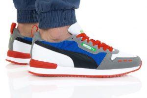 נעלי סניקרס פומה לגברים PUMA R78 - צבעוני כהה