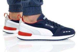נעלי סניקרס פומה לגברים PUMA R78 - כחול/לבן