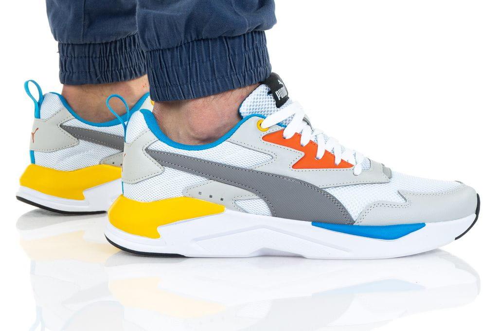 נעלי סניקרס פומה לגברים PUMA X-RAY LITE - צבעוני בהיר
