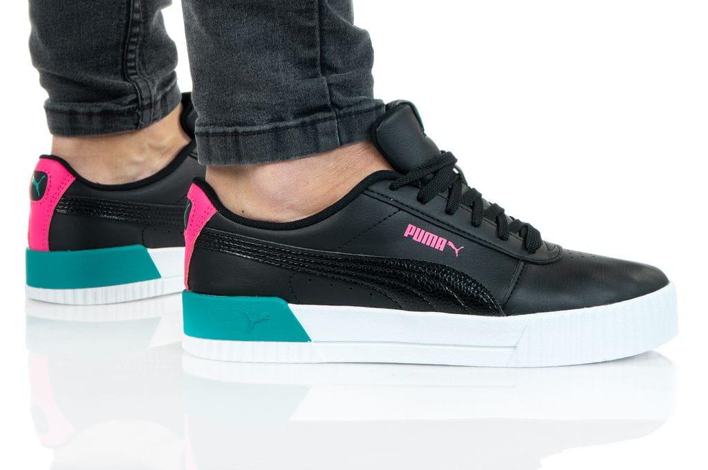 נעלי סניקרס פומה לנשים PUMA CARINA VIVID - צבעוני כהה