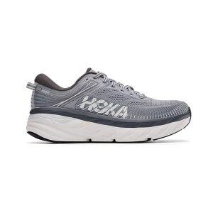 נעלי ריצה הוקה לגברים Hoka One One Bondi 7 - אפור