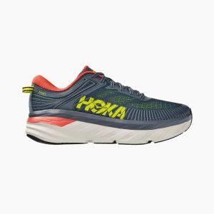 נעלי ריצה הוקה לגברים Hoka One One Bondi 7 - צבעוני כהה