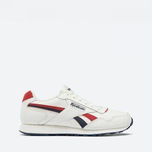 נעלי סניקרס ריבוק לגברים Reebok ROYAL GLIDE LX - לבן/אדום
