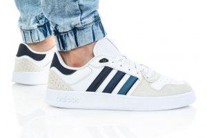 נעלי סניקרס אדידס לגברים Adidas Breaknet Plus - לבן/ כחול