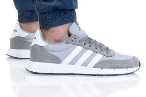 נעלי סניקרס אדידס לגברים Adidas Run 60s 2.0 - אפור/לבן