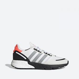 נעלי ריצה אדידס לגברים Adidas Originals Zx 1K Boost - לבן