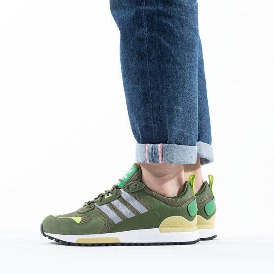 נעלי סניקרס אדידס לגברים Adidas Originals Zx 700 HD - ירוק