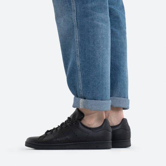 נעלי סניקרס אדידס לגברים Adidas Originals x Pharrell Williams Stan Smith - שחור